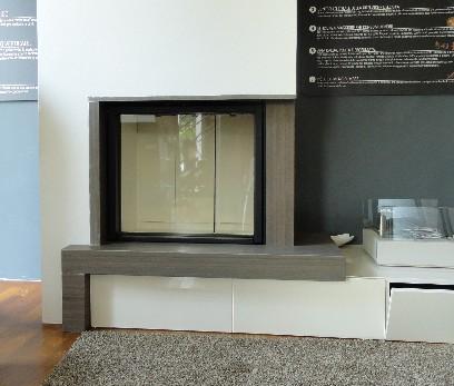 Promozioni caminetti stufe brescia pellet legna canne - Stufe a pellet con termosifoni ...