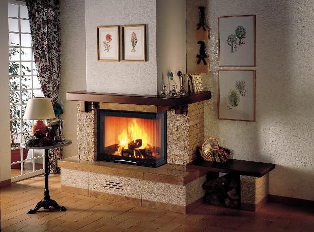 Assisi airsystem 70 sx dx caminetti stufe brescia pellet - Rivestimenti per caminetti a legna ...